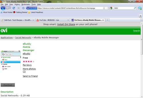Browser Hack the Ovi Store to Download Nokia Apps and Games