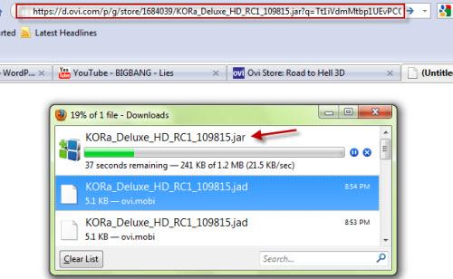 nokia browser software  jar file