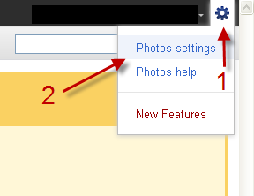 how to delete photos from picasa account