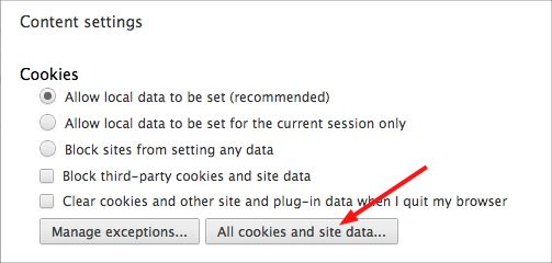 Shortcut Key To Delete Cookies In Chrome