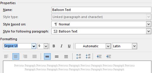 edit a style in word 2013