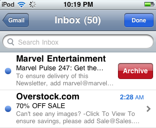 archive gmail email