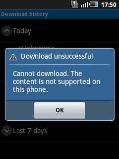 how to download unsupported apps on android