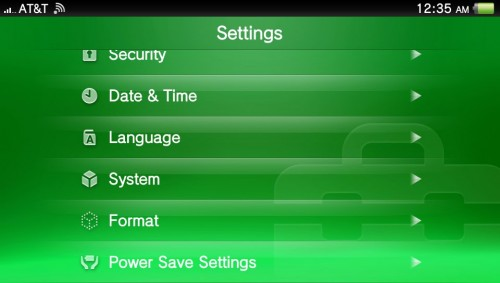 Playstation Vita: How To Customize The Start Screen Image