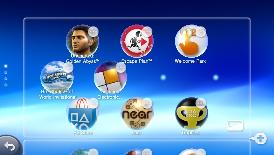 Playstation Vita: Customize the Vita's Home Screens