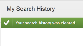 how to erase search history in youtube