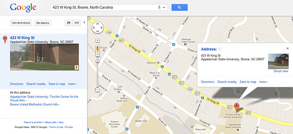 Search For Desired Address