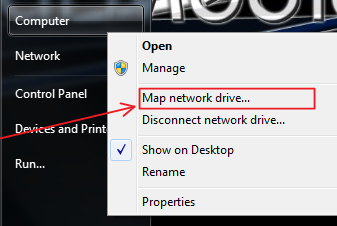 Windows 7: Map a Network Drive on disconnected network drive windows 7, map network drive windows 10, map network drive harden portal, home network windows 7, map network drive windows mobile, character map windows 7, map windows network icons, xp map drive windows 7, cannot map drive windows 7, map webdav windows, ftp drive letter windows 7, map network folder windows 7, map computer drive, map of blue ridge parkway and skyline drive,
