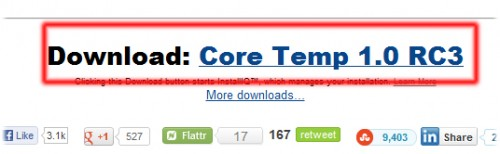 CoreTemp Download