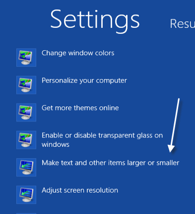 windows how to jump to a control panel sub setting