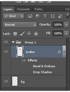 Photoshop CS6 Group Style