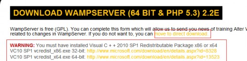 WAMP Server DL