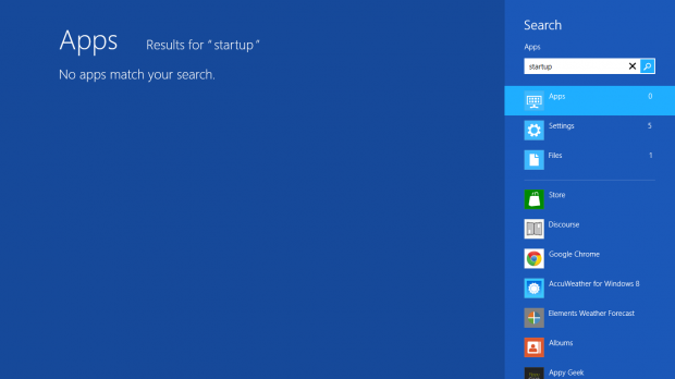 win 8.1 how to search for hidden files