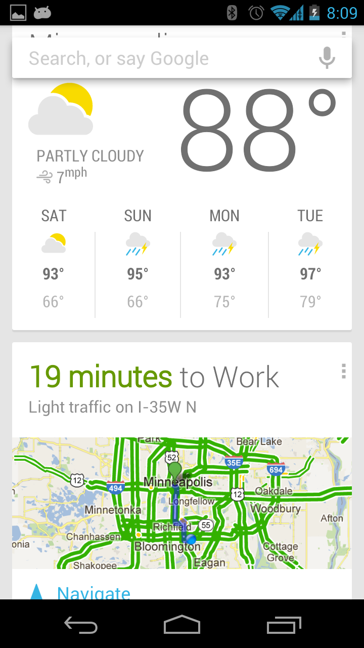 Android: Setup Home and Work Locations for Google Now ...