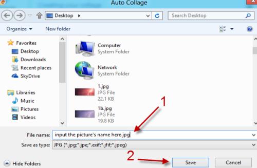 Windows Photo Gallery: Create a Photo Collage