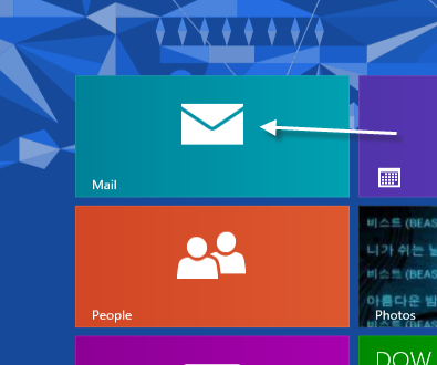 Windows 8 mail turn off conversation view for Window opens off screen