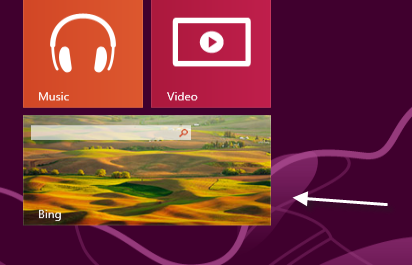 How Do I Copy, Download, or Use Bing's App Wallpaper as My Lock Screen in Windows  8?