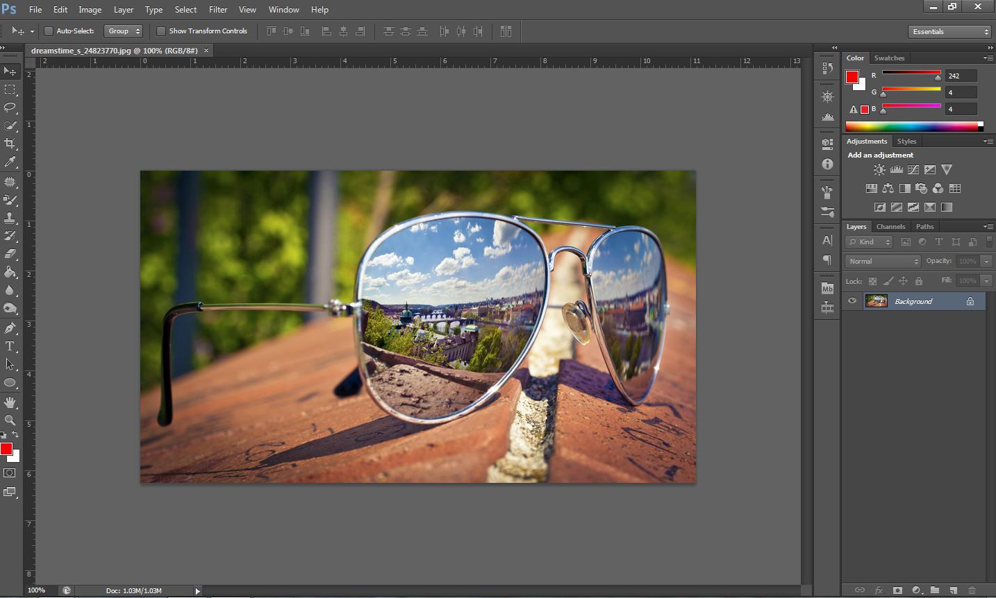 Photoshop Cs6 Create Redcyan 3d Images