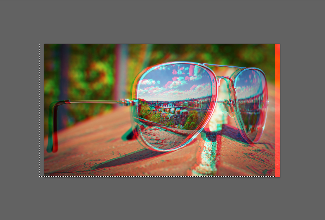 Photoshop CS6: Create Red/Cyan 3D Images