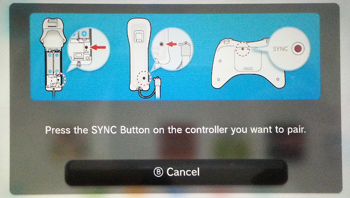 How to hook up wii remote to wii u