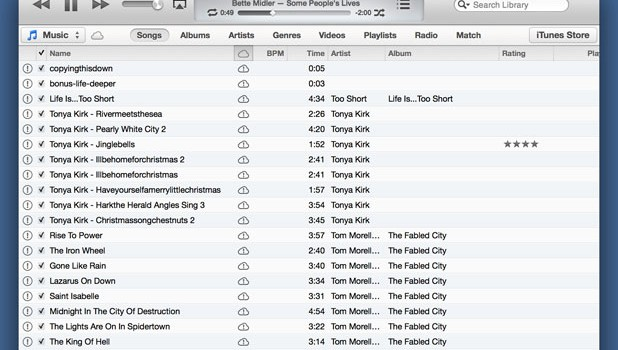 itunes 11 without the left sidebar