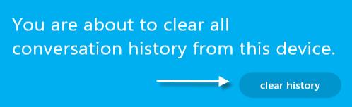 skype delete confirmation