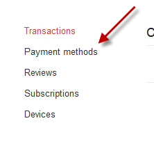 How Do I Off My Credit New Year card From Google Wallet