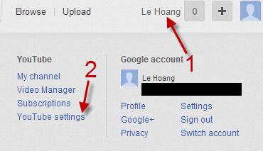 Create a Custom YouTube Channel Address