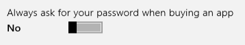 password prompt turned off