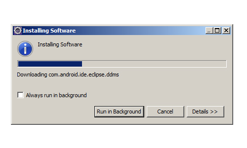 Eclipse IDE installing software