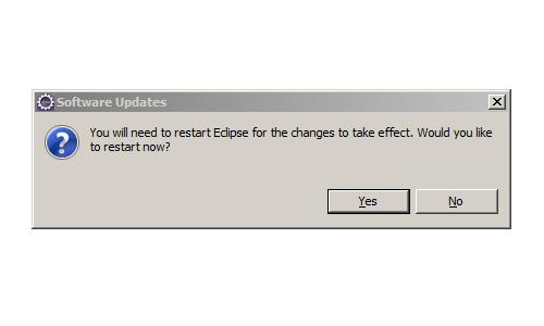 Eclipse Software Update