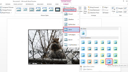 how to add text to a picture in word 2013