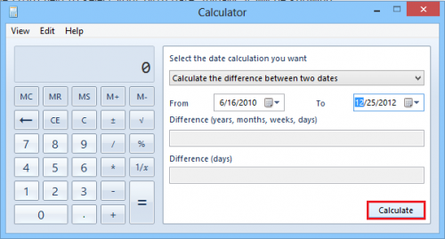 How long youve been dating calculator