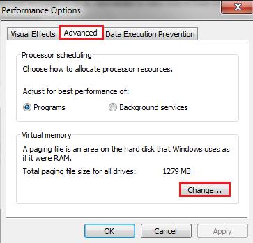 choosing ram cpu webserver