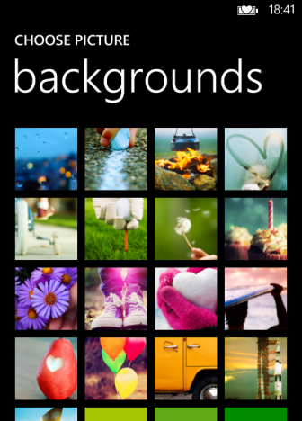 Windows Phone 8 Change Lock Screen Wallpaper Or Background