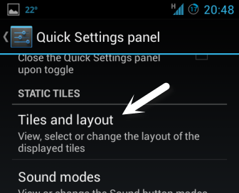 edit tiles and layout android quick settings panel