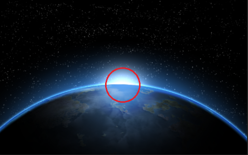 click to set foreign light source.