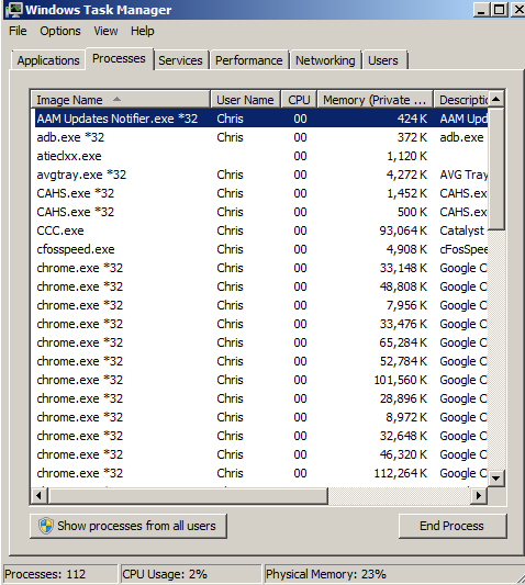 Windows 7: Set a Program's Affinity for Better Performance