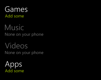 windows phone 8 add game music video app kid's corner