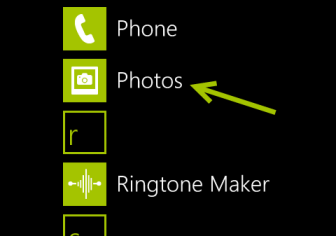 windows phone 8 photos app