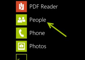 windows phone 8 people app