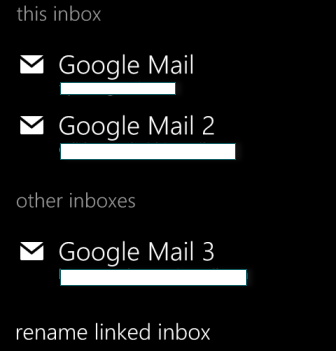 merge inbox complete