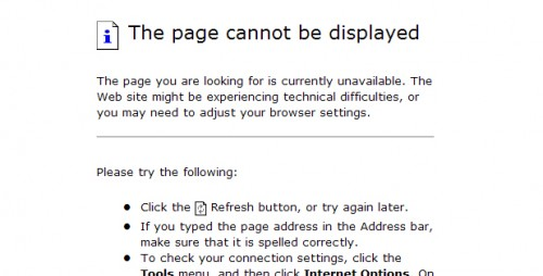Tomcat page cannot be displayed