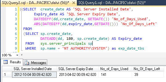 Ms sql server select date format