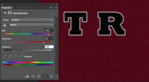 Play around with the sliders until you get a nice color.