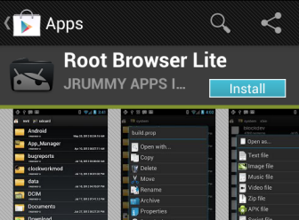 android root browser