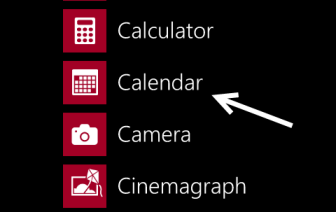 windows phone 8 calendar