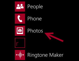 windows phone 8 photos