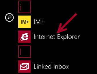 windows phone 8 internet explorer