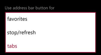 windows phone 8 internet explorer tabs